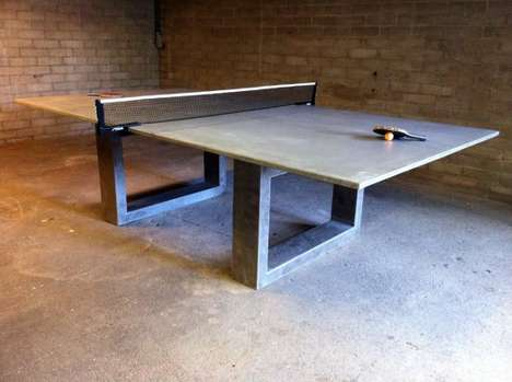 Concrete Ping Pong Tops