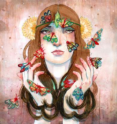 Mystically Dreamlike Drawings