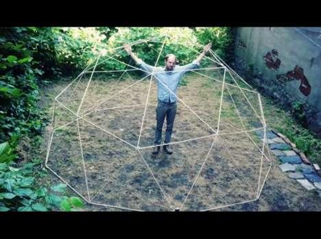 DIY Geodesic Tents