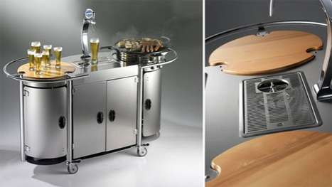 Portable Party Carts