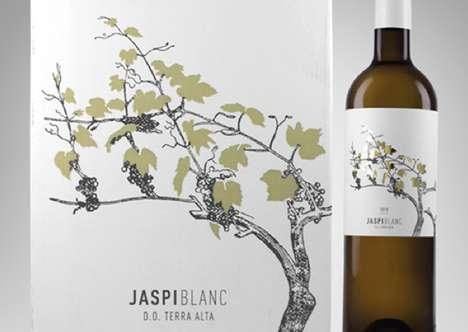 Elegant Grapevine Branding