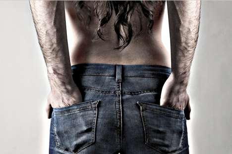 Gender-Blended Jeanvertising