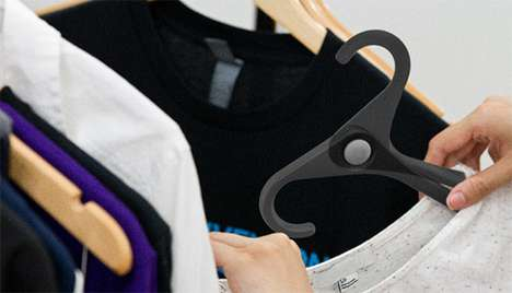 Clever Collapsible Hangers
