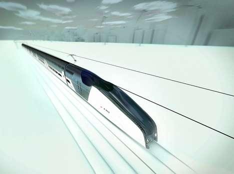 Extraordinary Eco Speed-Trains
