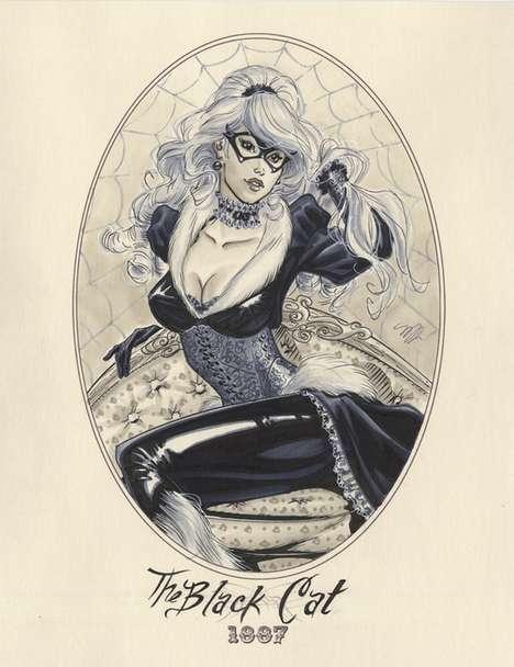 Steampunk Female Superheroes