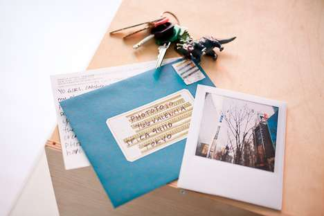 Personalized Polaroid Postcards