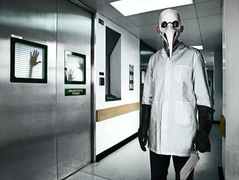 Masked Vigilante Images - Photographer Garry Owens Creates a Twisted Imaginary World