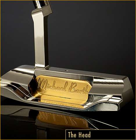 Golden Golfing Equipment