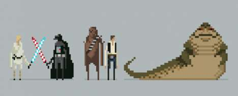 Michael B. Myers has Created a New Series of Star Wars Pixel Posters