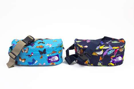 Bright Bug-Printed Bags