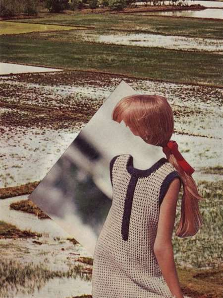 Vintage Magazine Photoscapes - Beth Hoeckel Creates Killer Cut and Paste Collages