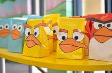 Comical Cartoon Loot Bags