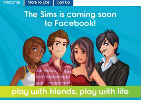 Simulated Social Media Realities - The Sims Social on Facebook Will Increase User Interactions