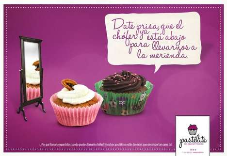 Personified Pastry Ads