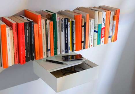 Mind-Boggling Invisible Bookcases