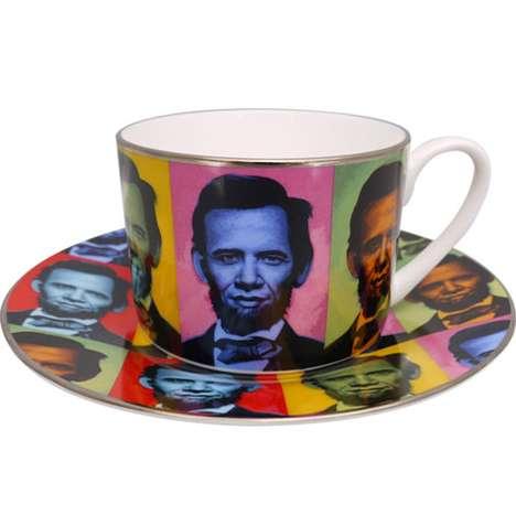 Presidental Mash-Up Tea Sets