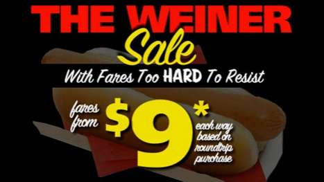 The Spirit Airlines Weiner Ad Goes Straight to the Funny Bone