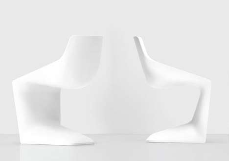 Simplistic Cupped Seating