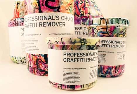 Spray-Painted Packaging