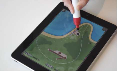 Whiteboard Marker Styluses - Scribbly Stylus Makes Tablet Interaction Simple as Primary School