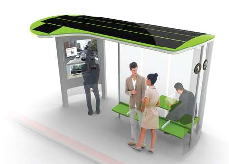 Advantageous Transit Shelters