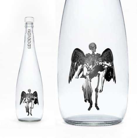 Fallen Angel Alcohol Packaging
