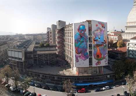 Sky-High Street Art