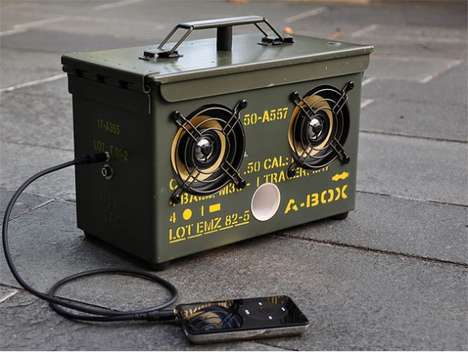Apocalypse-Ready Boom Boxes - The Tho­dio A-​​Box Prepares You for Zombie Outbreaks