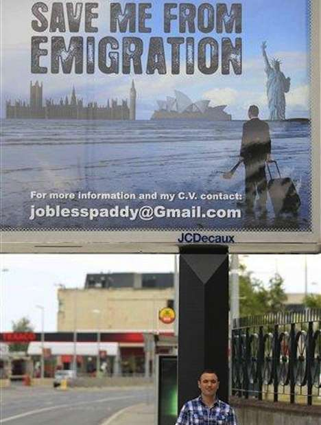 Landmark Unemployed Branding