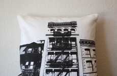 Cityscape Silhouette Cushions