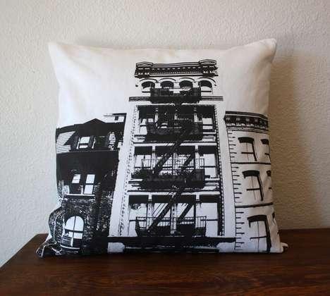 Cityscape Silhouette Cushions