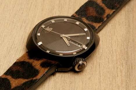 Wild Safari-Print Timepieces