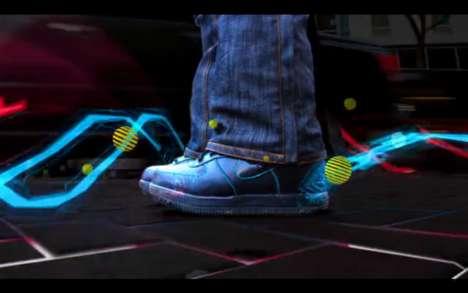Technicolor Sneaker Ads