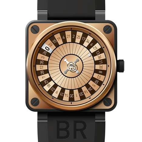 Roulette Timepieces - The Bell & Ross BR 01 Casino is a Gambler's Dream Wristwatch