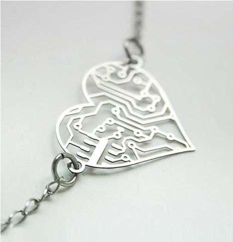 Romantic Techie Necklaces