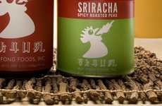 Fire Breathing Branding - Sriracha Hot Sauce Packaging Was Infused with Flaming New Life