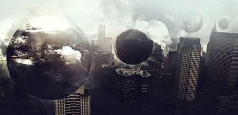 Surreal Dystopian Illustrations
