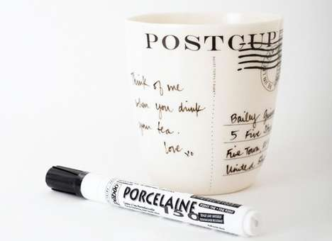 Mailed Message Mugs