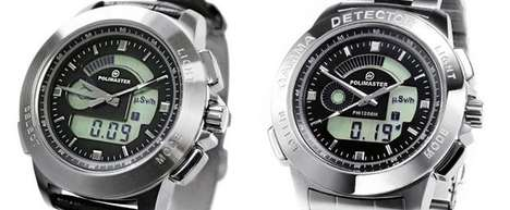 Radiation-Detecting Timepieces - The Polimaster PM1208M Geiger Counter Wristwatch Will Protect You