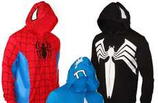 Nerdy Heroic Fashions - Channel Your Inner Geek With the Marvel Superhero Hoodies