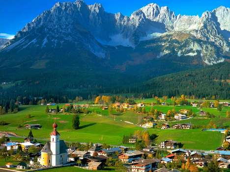 Selling Outdoor Landmarks - You Can Own Two Mountain Peaks in the Austrian Alps for $175,000