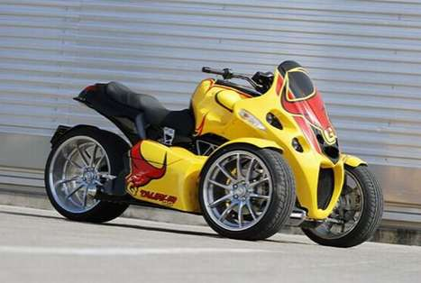 Reverse Trikes - The GG Taurus is Definitely Creative in its Design