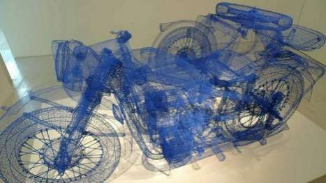 Blueprint Automobiles (UPDATE) - Shi Jindian Recreates All Kinds of Transportation Using Wires
