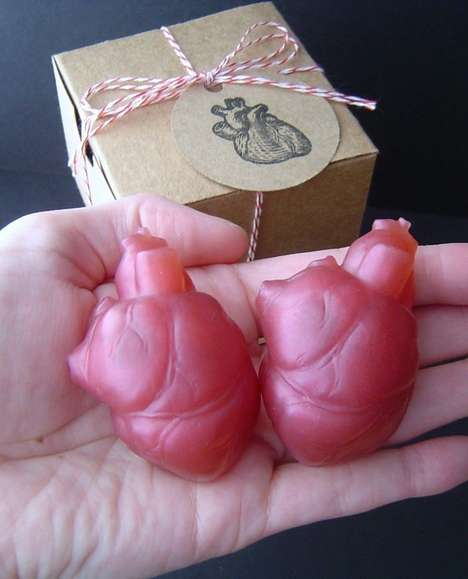 The 'I Give You My Heart' Soap Set is Sweet-Scented