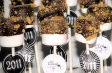 Campfire Cake Pops - Smore Pops by Big Bears Wife are a Mini Version of the Popular Fireside Treat