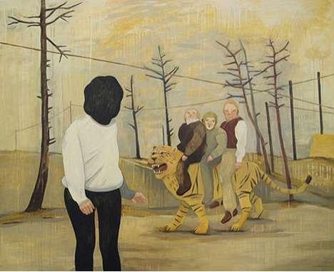 Sinister Impressionist Paintings