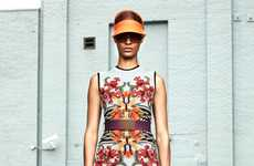 Digital Designer Collections - The Givenchy Resort 2012 Line is Filled with Digitally Altered Prints