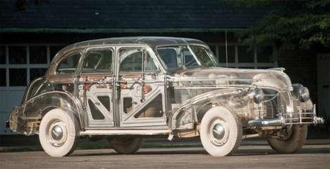 Vintage Skeletal Vehicles