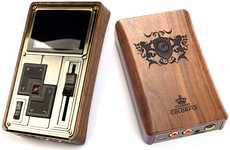 Steampunk Music Players - The Colorfly Pocket HiFi C4 Pro Blasts Music From a Baroque-Styled Box