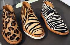 Fierce Animalistic Footwear